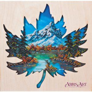 Набор для вышивки бисером Абрис Арт «Прохлада Банфа» AB-768