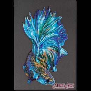 Набор для вышивки бисером Абрис Арт «Синее золото» AB-746