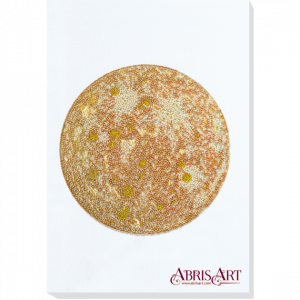 Набор для вышивки бисером Абрис Арт «Каданс-1» белый фон AB-773-01