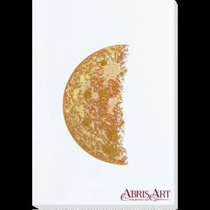 Набор для вышивки бисером Абрис Арт «Каданс-2» белый фон AB-774-01