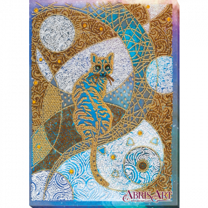 Набор для вышивки бисером Абрис Арт «Лунная прогулка» AB-747