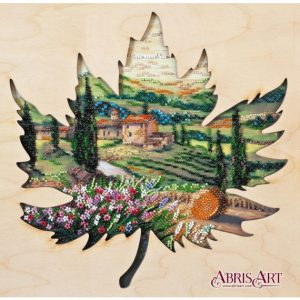 Набор для вышивки бисером Абрис Арт «Солнце Тосканы» AB-767