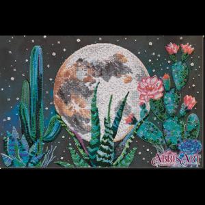Набор для вышивки бисером Абрис Арт «Ночь в пустыне» AB-733
