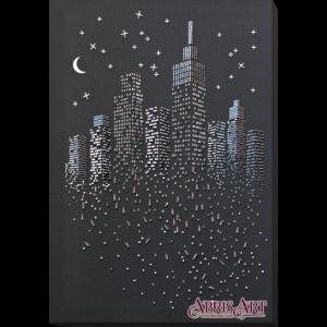 Набор для вышивки бисером Абрис Арт «Блеск ночных огней» AB-755