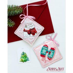 Набор для вышивки бисером Абрис Арт «Помурлыкаем» ABT-017
