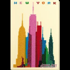 Набор для вышивки бисером Абрис Арт «Нью-Йорк» AB-764