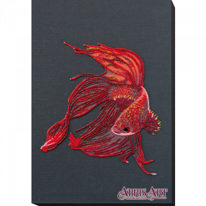 Набор для вышивки бисером Абрис Арт «Красное золото» AB-754