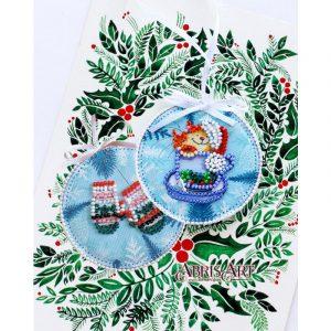 Набор для вышивки бисером Абрис Арт «Маленький сюрприз» ABT-013