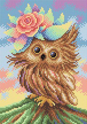Алмазная мозаика Brilliart (М.П.Студия) «Очаровательная совушка» МС-030