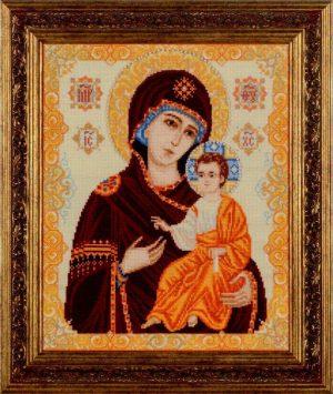 Вышитая картина Риолис «Иверская икона Божьей Матери» ВК-1575