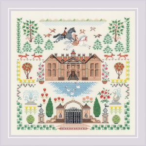 Набор для вышивания крестом Риолис «Мой дом» 1917