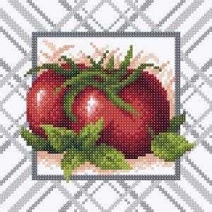 Алмазная мозаика Brilliart (М.П.Студия) «Спелый томат» МС-013