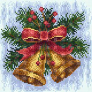 Алмазная мозаика Brilliart (М.П.Студия) «Новогодняя мелодия» МС-024