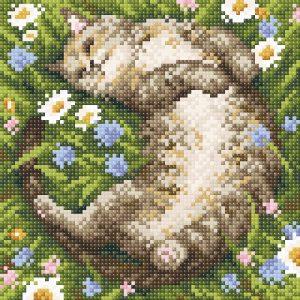 Алмазная мозаика Brilliart (М.П.Студия) «Ромашковое лето» МС-044