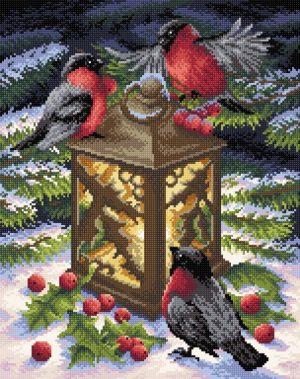 Алмазная мозаика Brilliart (М.П.Студия) «Тепло зимы» МС-019