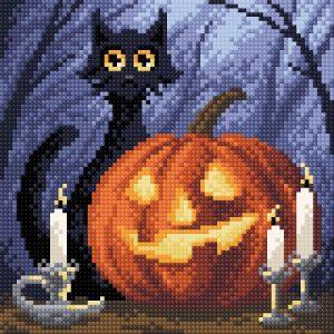 Алмазная мозаика Brilliart (М.П.Студия) «Веселый Хеллоуин» МС-048