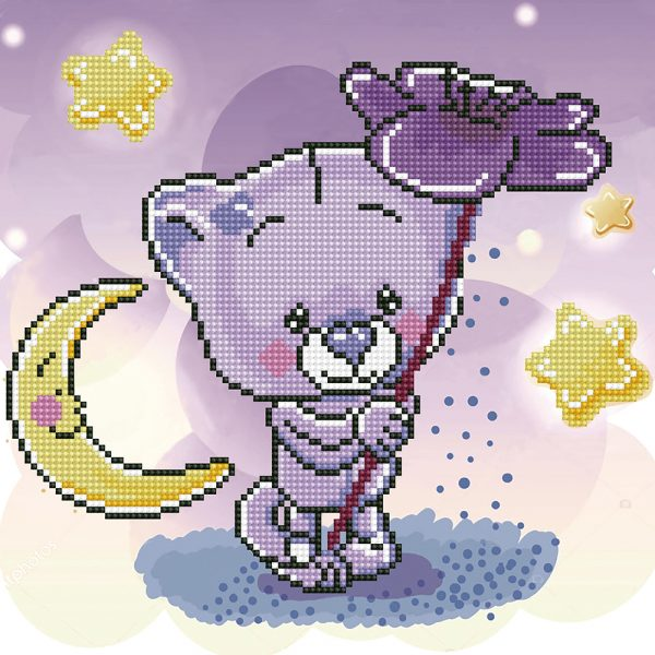 Алмазная мозаика Фрея «Волшебный цветок» ALV-83