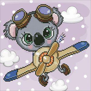 Алмазная мозаика Фрея «Навстречу ветру!» ALV-96