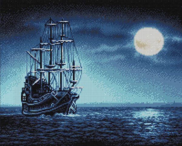 Алмазная мозаика Фрея «Под лунным светом» ALVA-01