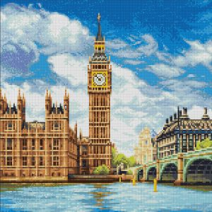 Алмазная мозаика Фрея «Лондон. Палата лордов» ALVA-04