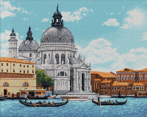 Алмазная мозаика Фрея «Венеция. Базилика Санта-Мария» ALVA-05