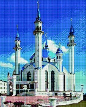 Алмазная мозаика на подрамнике Painting Diamond «Мечеть Кул-Шариф» GF3631