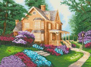 Алмазная мозаика на подрамнике Painting Diamond «Дом мечты» GF1335