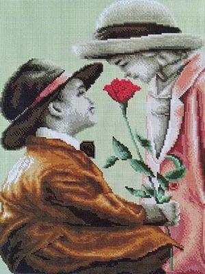 Алмазная мозаика на подрамнике Painting Diamond «Невинность» GF2891
