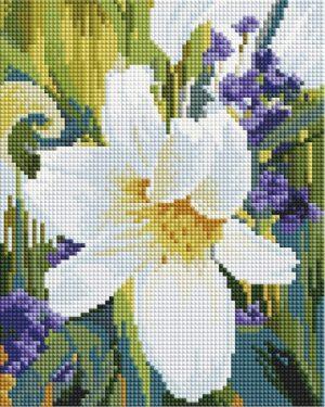 Алмазная мозаика на подрамнике Белоснежка «Лилия» 537-ST-S
