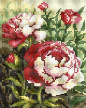 Алмазная мозаика на подрамнике Белоснежка «Цветущий куст» 549-ST-S