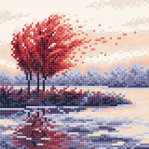 Алмазная мозаика Brilliart «Красная осень» МС-055