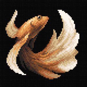 Алмазная мозаика Brilliart «Рыбка золотая» МС-058