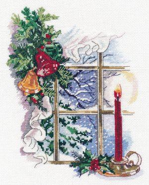 Набор для вышивания крестом Овен «Свет Рождества» ov1358