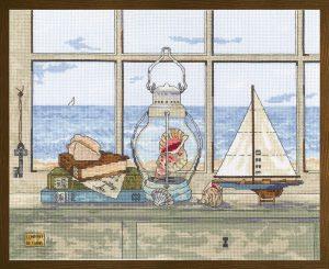 Набор для вышивания крестом Janlynn «Морской бриз» 007-0400