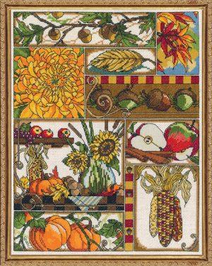 Набор для вышивания крестом Janlynn «Осенняя композиция» 017-0103