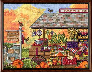 Набор для вышивания крестом Janlynn «Лавка фермера» 017-0111