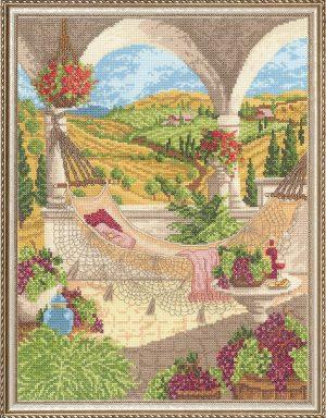 Набор для вышивания крестом Janlynn «Праздник урожая» 032-0103