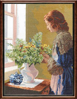 Набор для вышивания крестом Janlynn «Изящество» 012-0100
