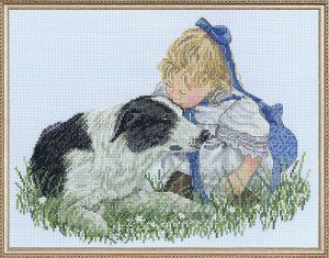Набор для вышивания крестом Janlynn «Поцелуй» 008-0204