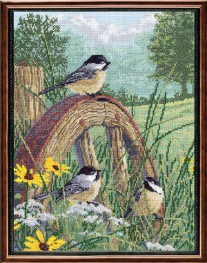 Набор для вышивания крестом Janlynn «Просторы луга» 008-0203