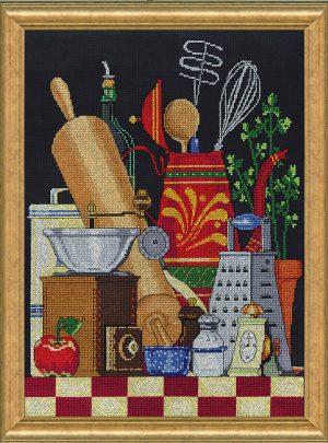 Набор для вышивания крестом Janlynn «Кухонный натюрморт» 017-0105