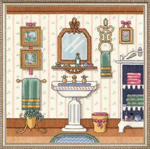Набор для вышивания крестом Janlynn «Раковина в викторианском стиле» 006-0101