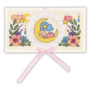 Алмазная мозаика Риолис «С рождением малыша» 1893АС