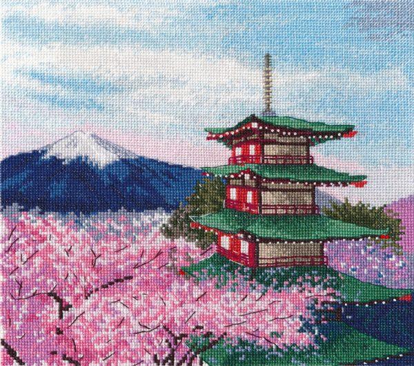 Набор для вышивания крестом Овен «Пагода Чурейто» ov1366