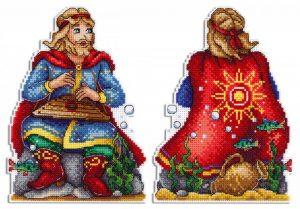 Набор для вышивания крестом М.П.Студия «Садко в подводном царстве» Р-573