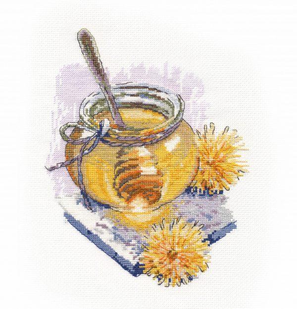 Набор для вышивания крестом Овен «Весенний мёд» ov1355