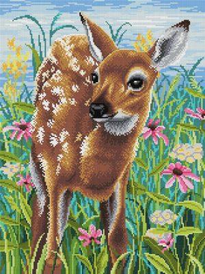 Набор для вышивания крестом М.П.Студия «В цветении дивных трав» СК-108