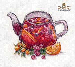 Набор для вышивания крестом Овен «Ягодный чай» ov1364