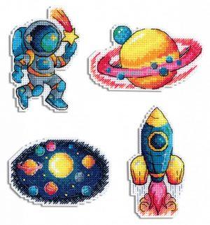 Магниты М.П.Студия «Космос. Магниты» Р-576