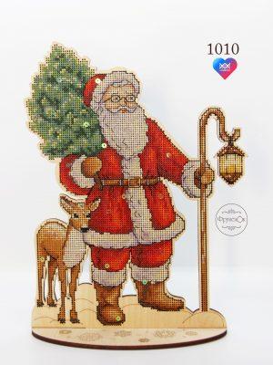 Набор для вышивания крестом Фрузелок «Накануне праздника» 1010